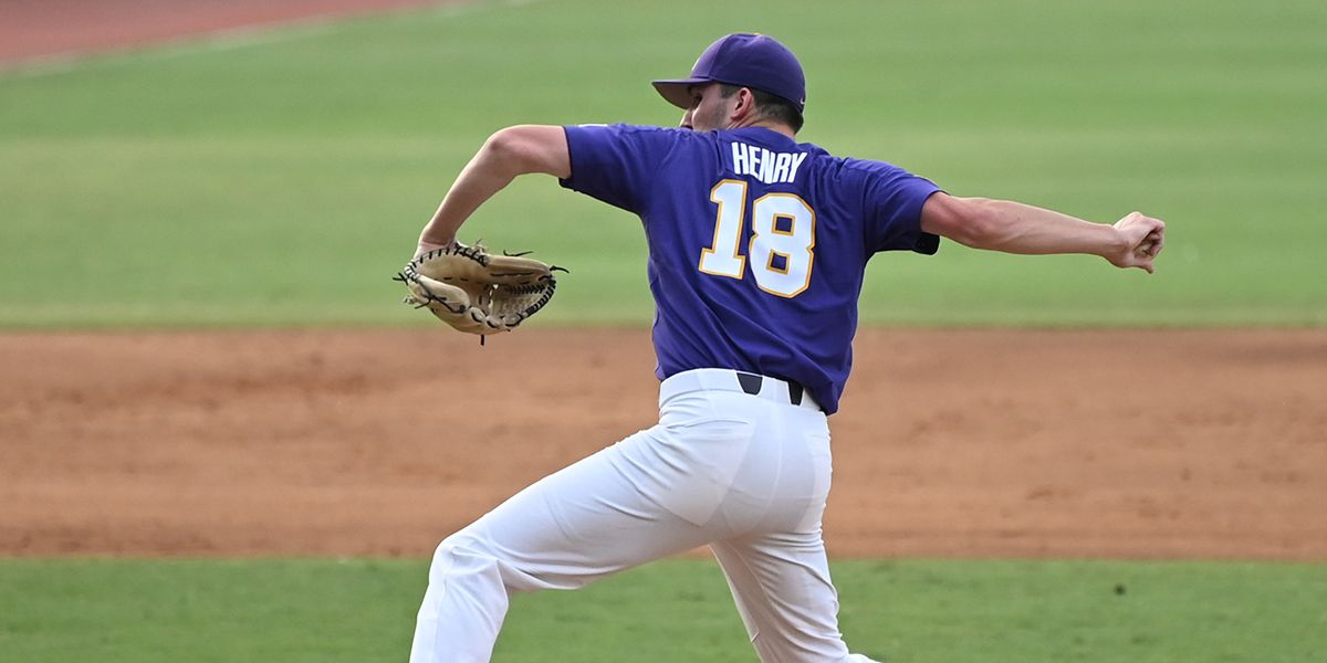 LSU baseball freshman receives All-American honor