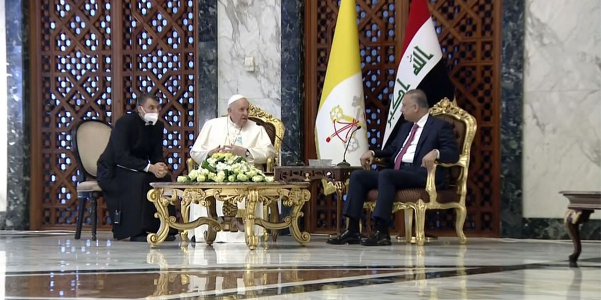 Pope urges Iraq to embrace its Christians on historic visit