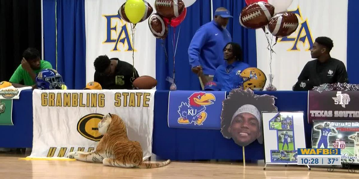 NATIONAL SIGNING DAY: East Ascension Recruits