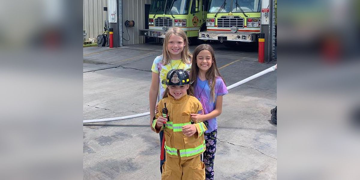 Girls in St. George learn what it's like to be a firefighter