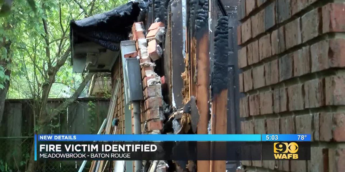 Meadowbrook fire victim identified