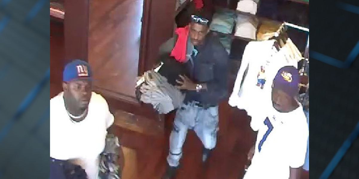Suspects wanted after Ralph Lauren Polo store in Gonzales robbed twice