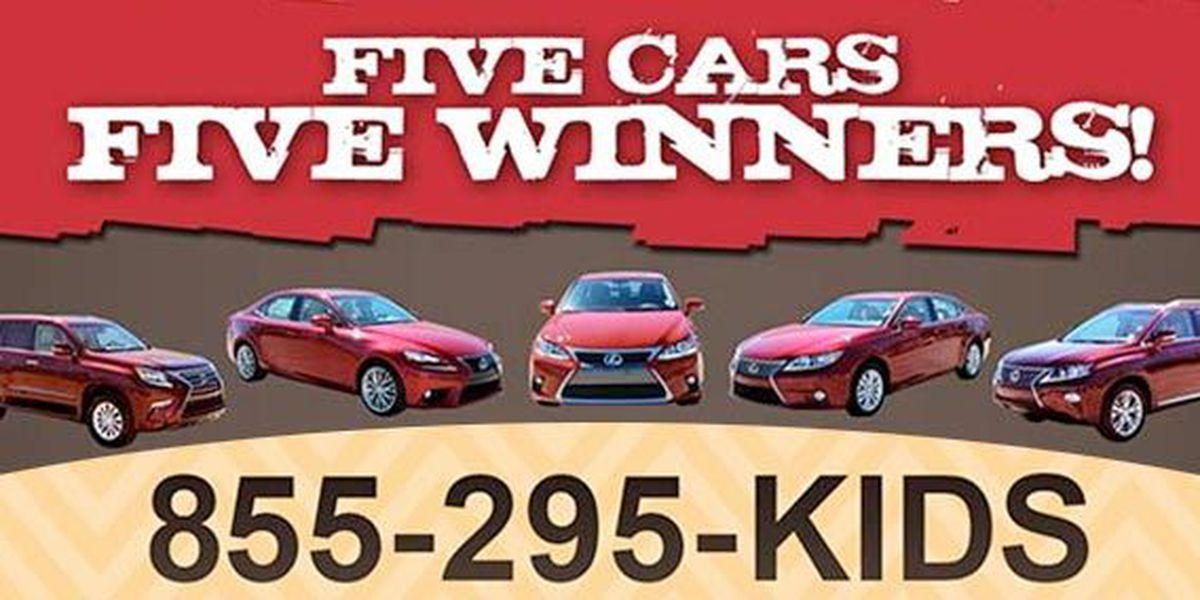 5 Cars - 5 Winners