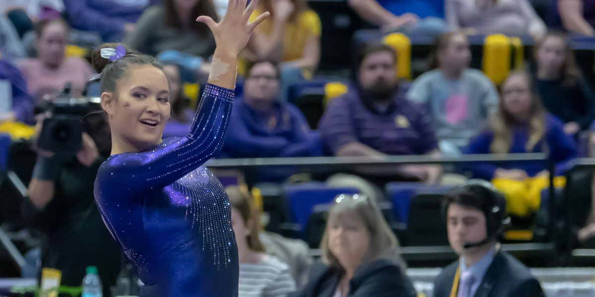 LSU gymnast named Honda Sport Award finalist