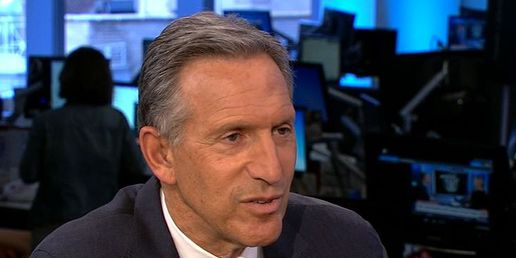 Democrats uneasy about ex-Starbucks CEO's talk of running for president