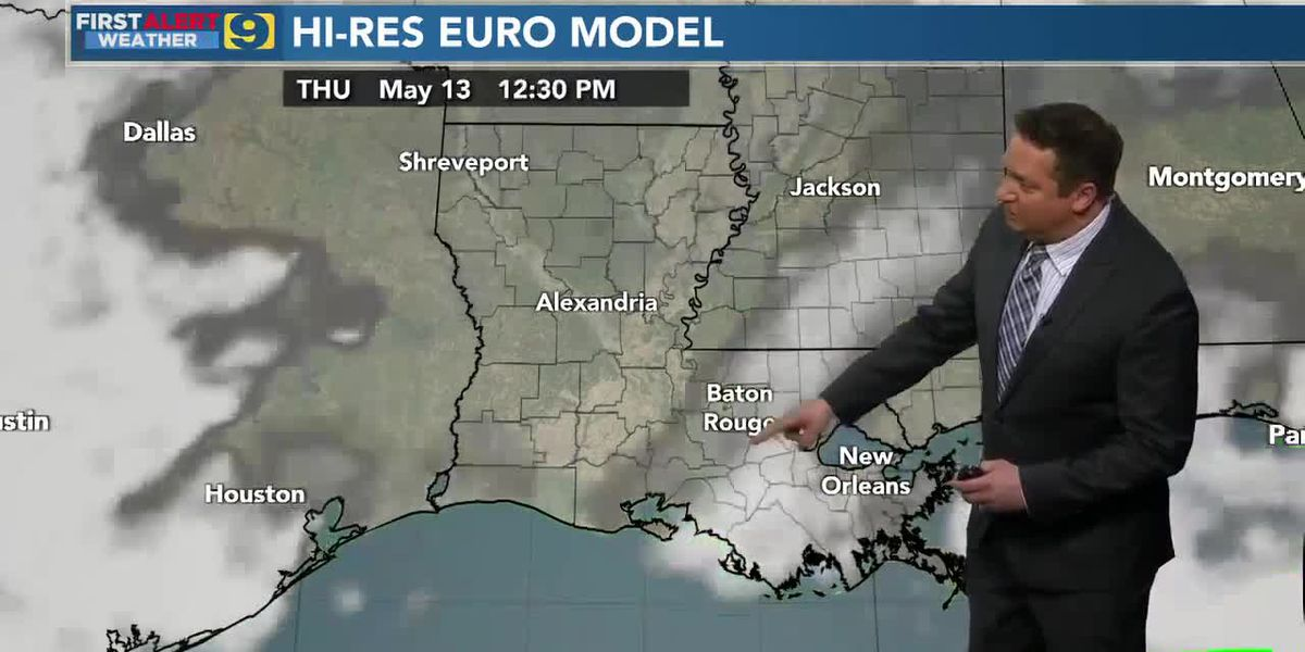 FIRST ALERT 10 P.M. FORECAST: Wednesday, May 12