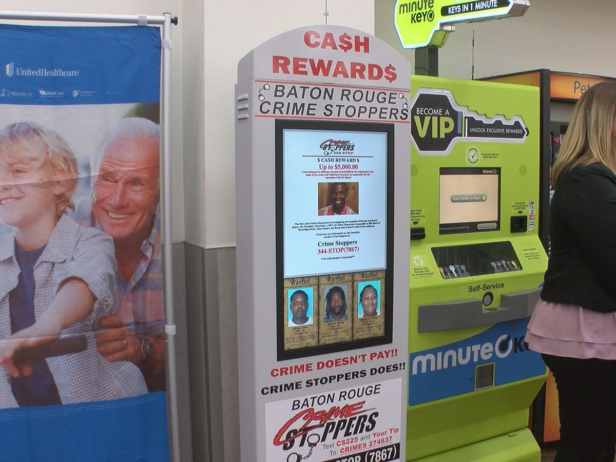 Crime Stoppers tips now displayed on kiosks