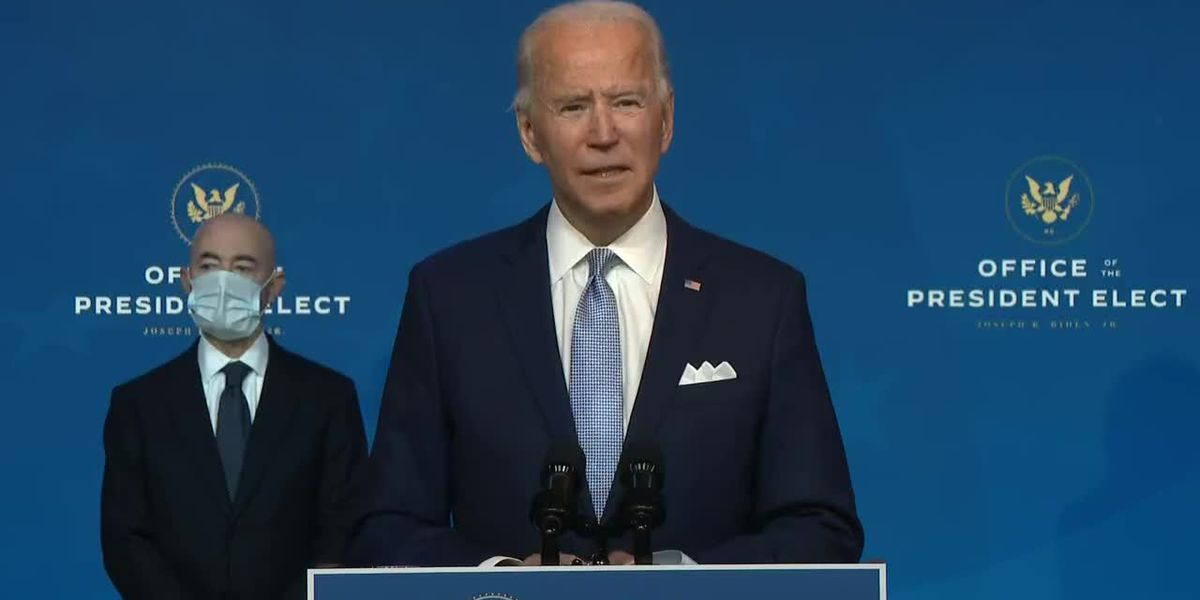 FULL: Biden, Harris announce cabinet nominees