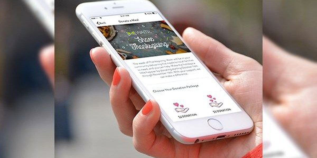 Waitr to start Thanksgiving food drive to feed needy families in the community