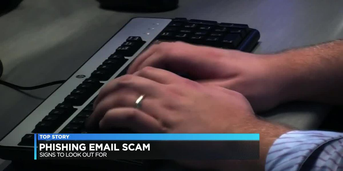 Signs to look out for in phishing email scam