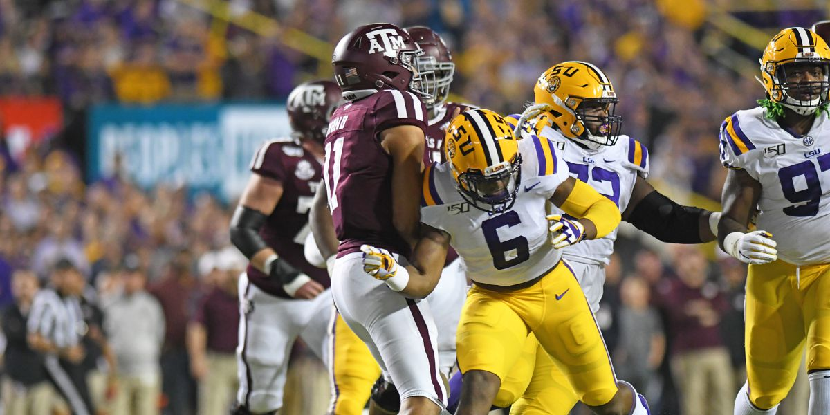 LSU linebacker Jacob Phillips to sign autographs at Dick's Sporting Goods Wednesday