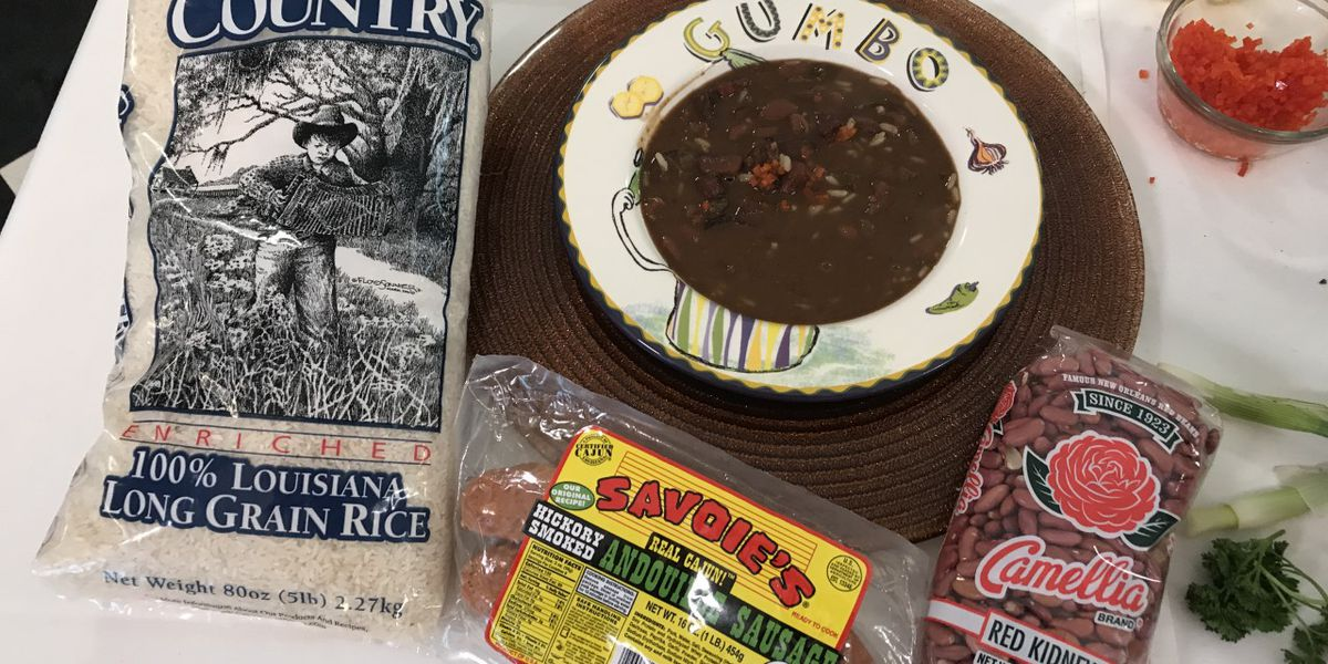 Red Beans, Rice and Sausage Gumbo