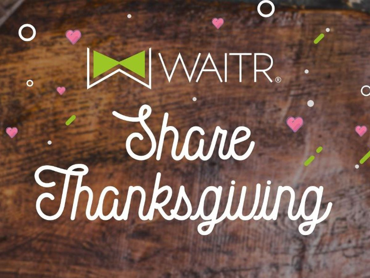 Waitr launches Share Thanksgiving campaign to feed the less fortunate