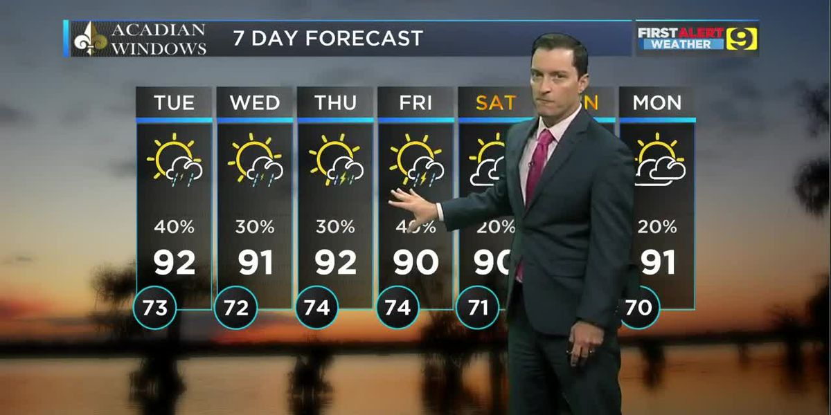 FIRST ALERT 5 P.M. FORECAST: Monday, Sept. 16