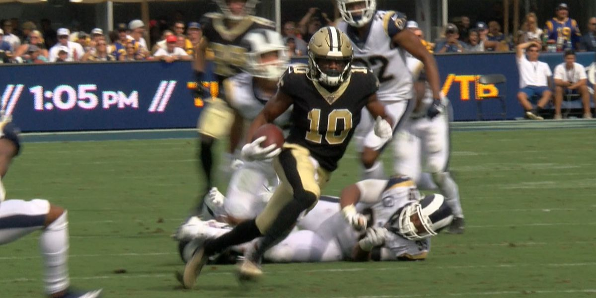 Brees, Smith and Clapp miss practice Wednesday for Saints