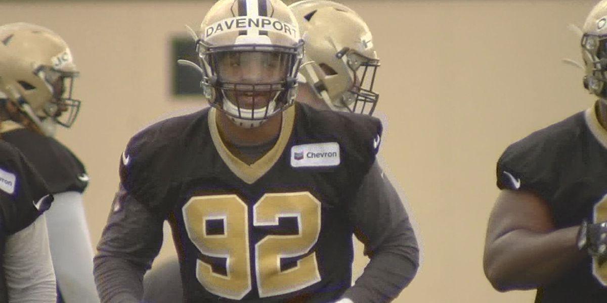 Saints DE Marcus Davenport looks to make big jump in second year