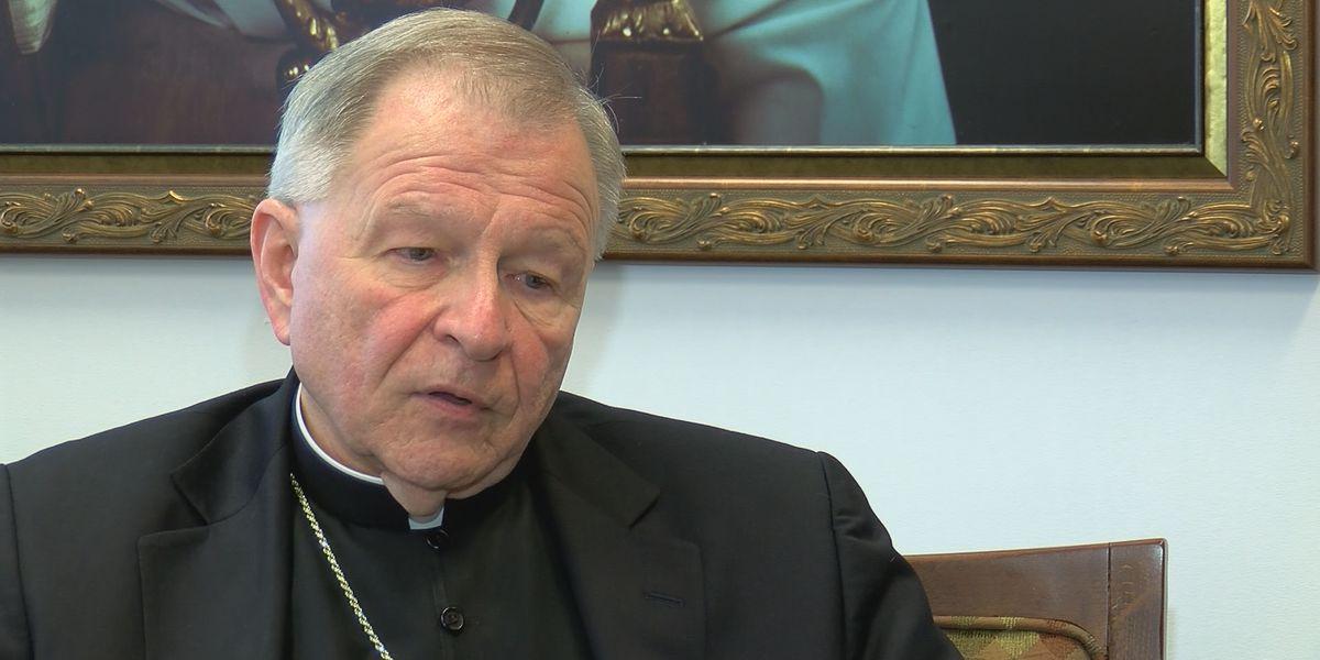 Archbishop Gregory Aymond tests positive for coronavirus