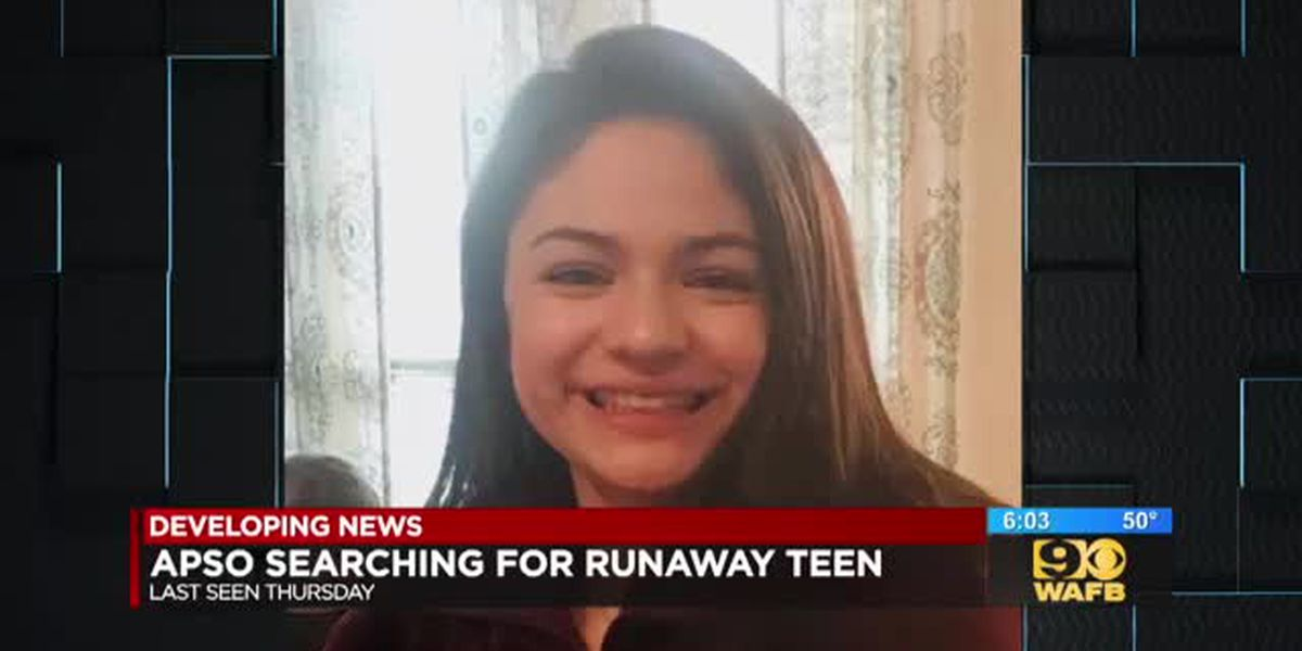 Sheriff's office seeking 13-year-old runaway last seen Dec. 13