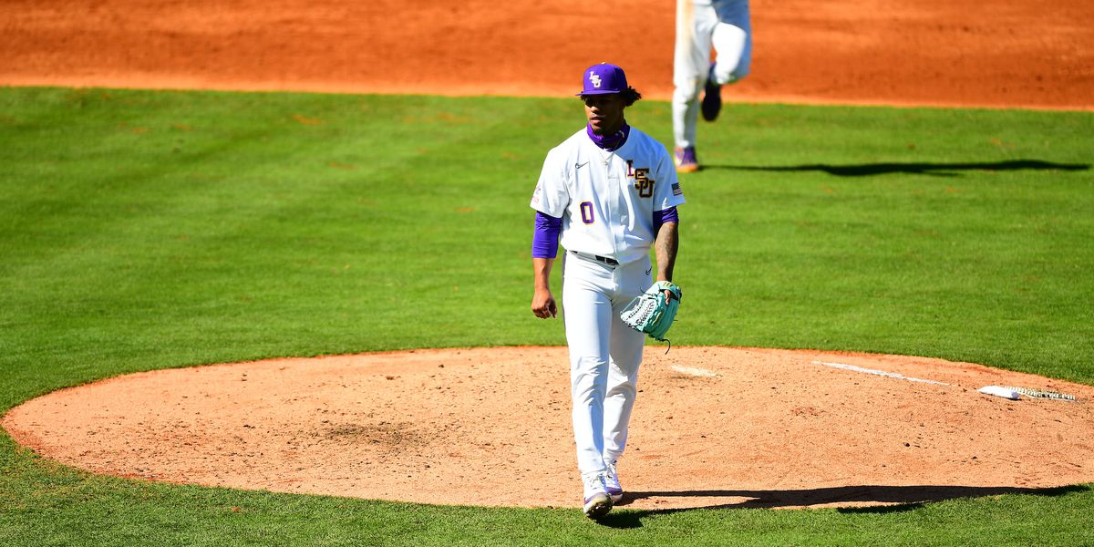 LSU pitcher Hill out for remainder of 2021 season