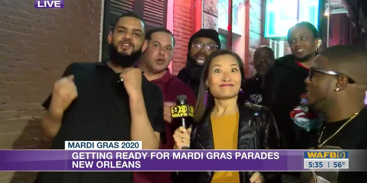 New Orleans Mardi Gras 9News This Morning - 5:30 a.m.