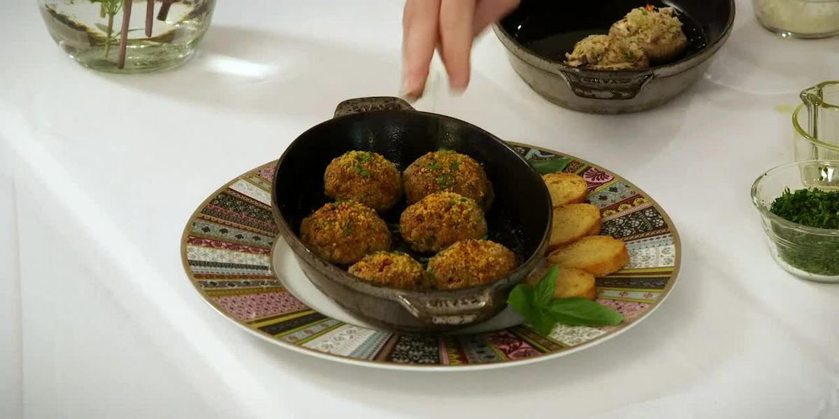 Stirrin' It Up: Giant Mushrooms Stuffed With Crabmeat (July 7, 2020)
