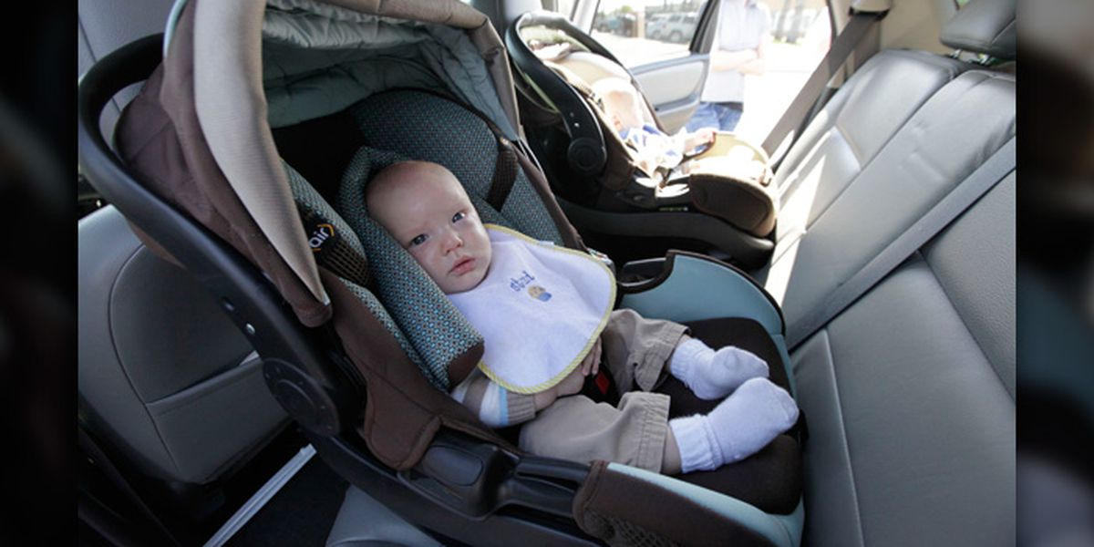 Toddlers should ride in rear-facing car seats as long as possible, experts say