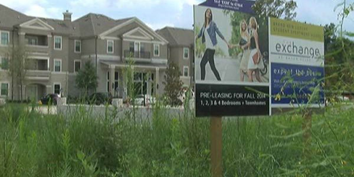 Infrastructure struggles to keep up with LSU apartments