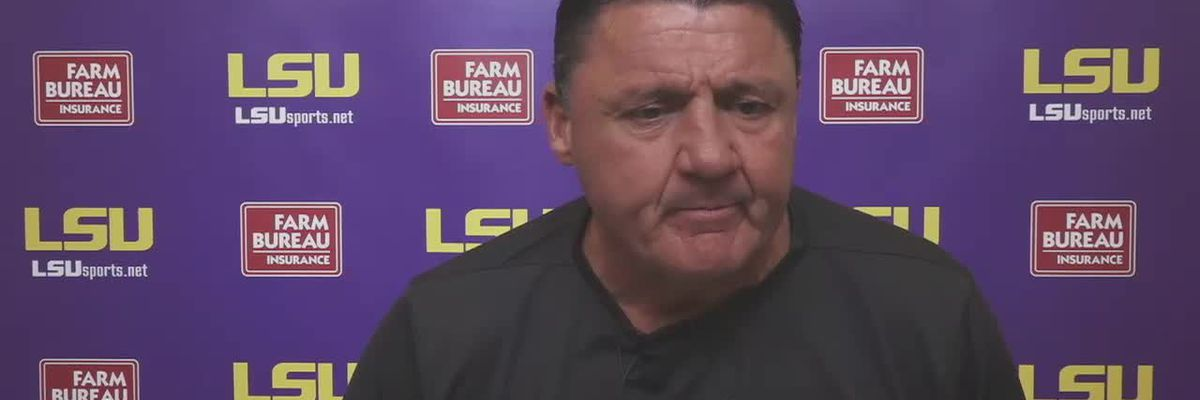 Lunch with Coach O: LSU vs Alabama Preview (Full Interview)