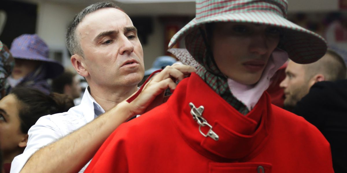 Raf Simons out at Calvin Klein after 2 high-profile years