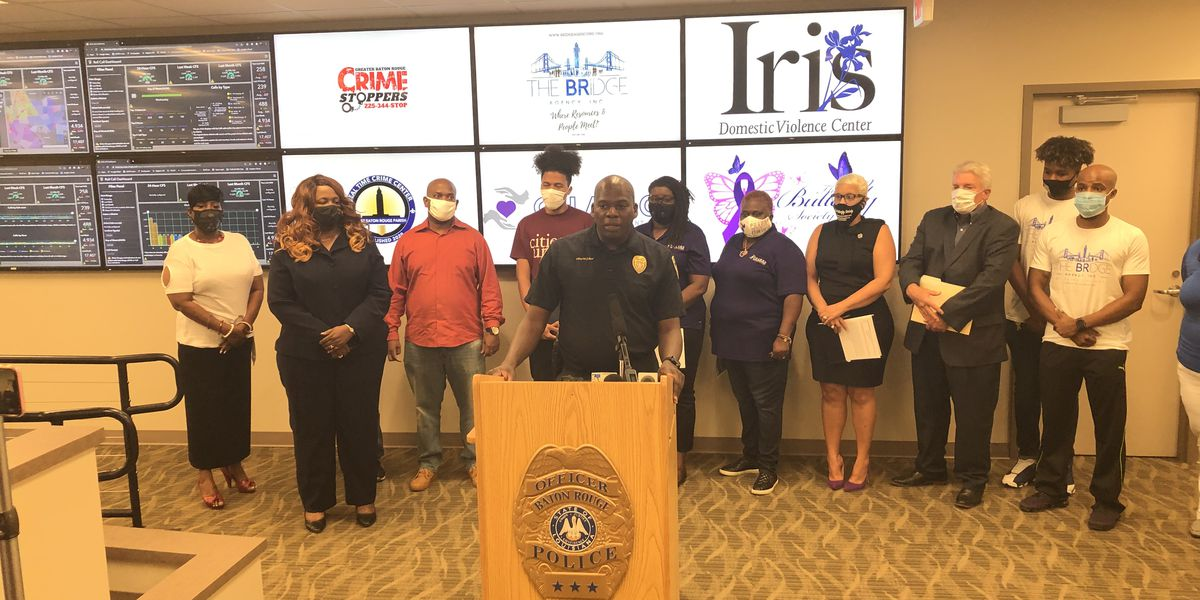 BRPD chief calls on public to help solve violent crimes, highlights community organizations