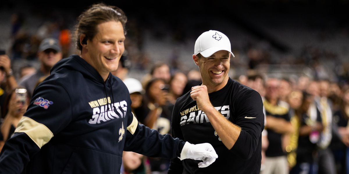 Brees and Hendrickson ruled out for Sunday's game against the Bucs