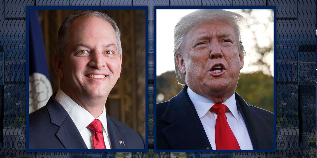 President Trump, Gov. Edwards host seperate rallies in Shreveport-area two days before election day