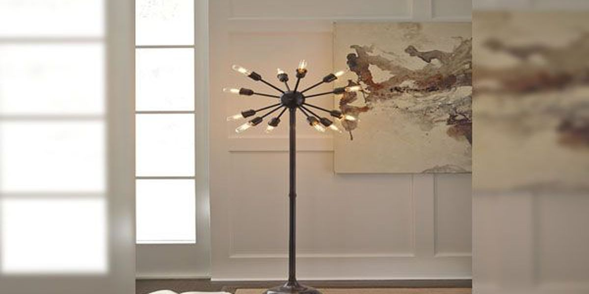 Ashley Furniture Floor Lamps Recalled For Burn Hazard