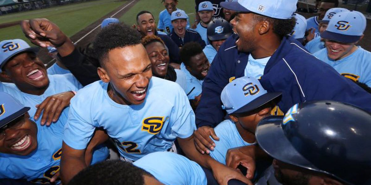 Southern baseball faces Northwestern St. in weekend series