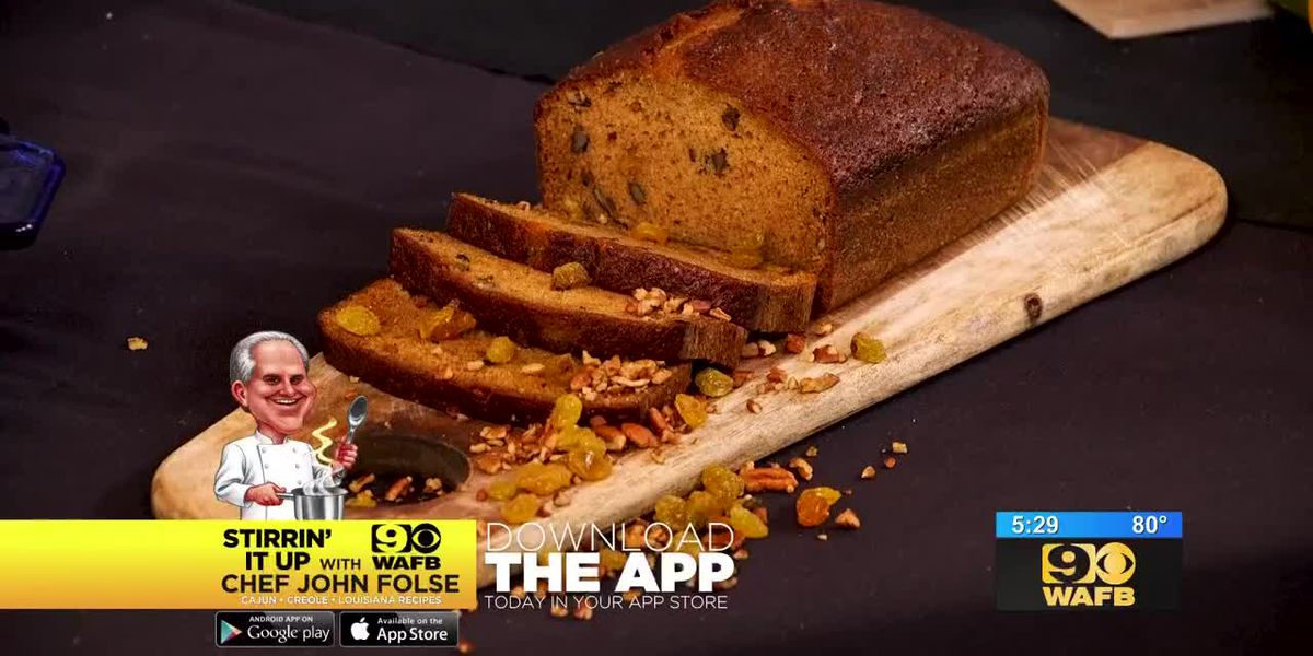 Stirrin' It Up: Pumpkin and Pecan Bread (Oct. 18, 2018)