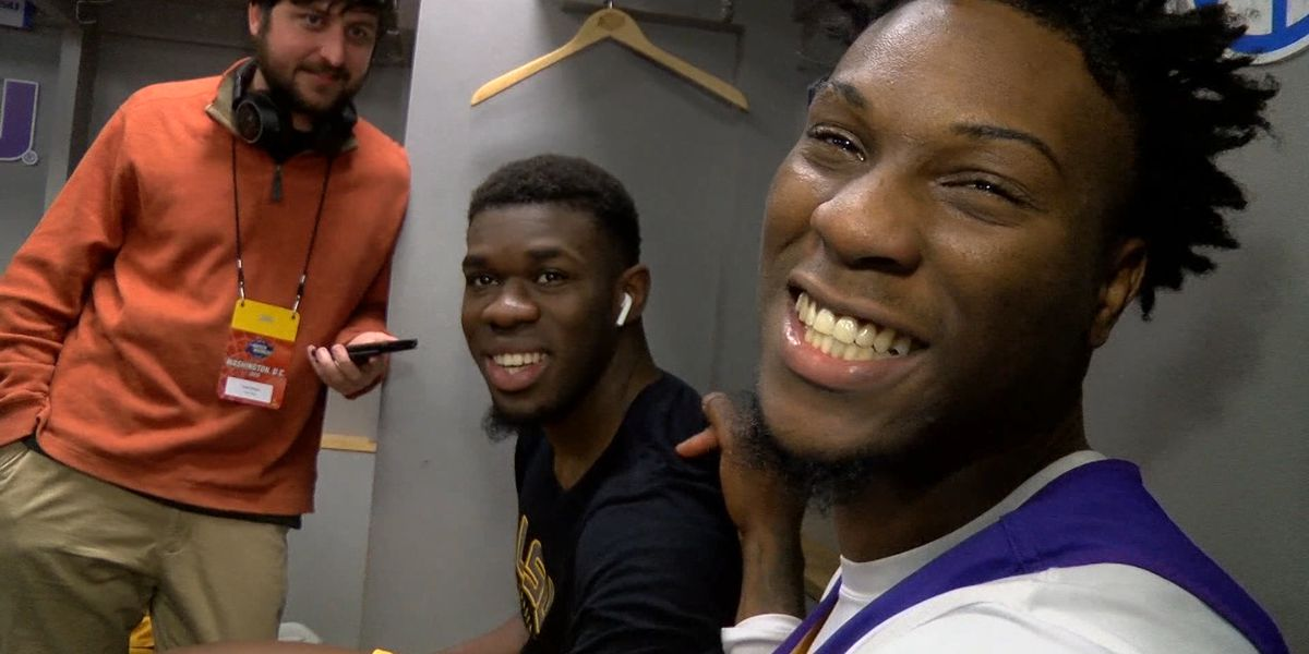 LSU basketball players take time to relax and answer unusual questions
