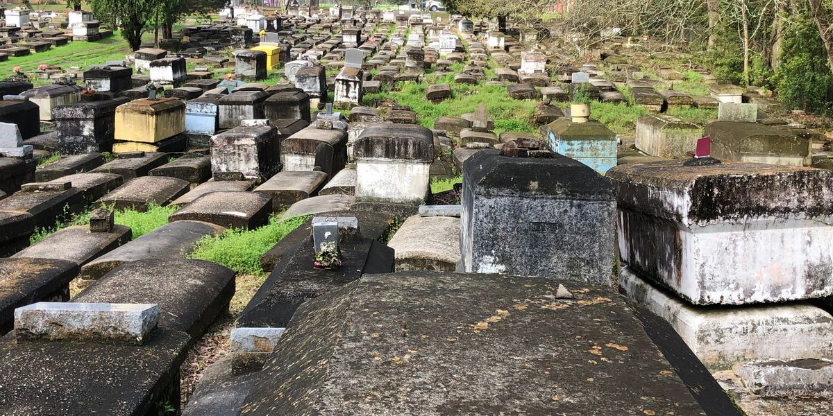 No peaceful rest for the buried; state inspects crumbling graves in Garden District cemetery