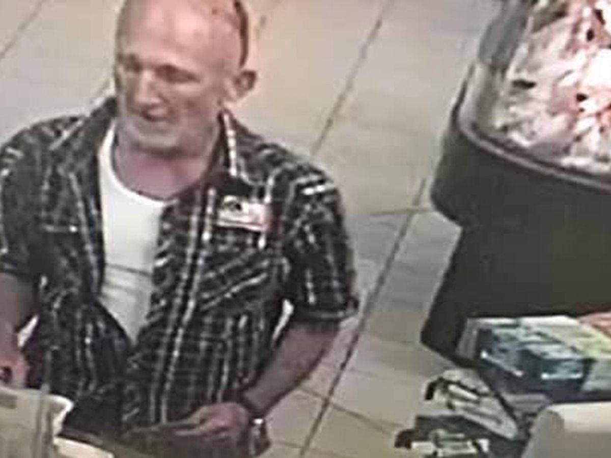 WANTED: Man accused of stealing wallet at Denham Springs gas station, draining victim's bank account