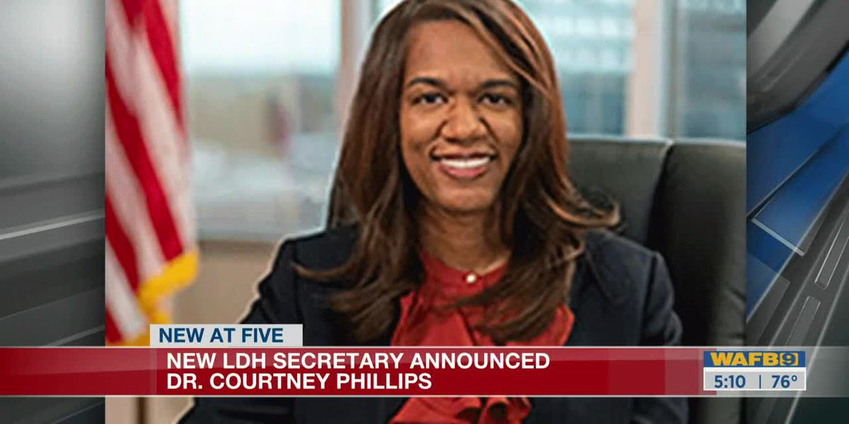 Dr. Courtney Phillips announced as new LDH Secretary