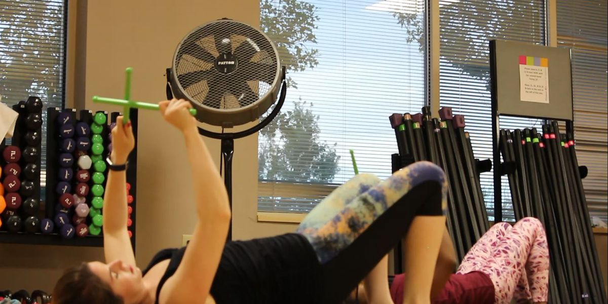 Pound Class has women working out to the beat
