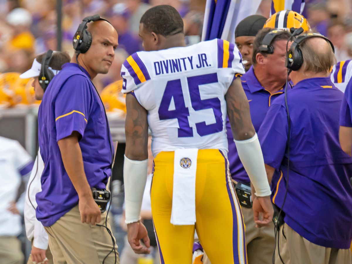 Orgeron gives final thoughts on LSU defense before facing Vandy in SEC matchup