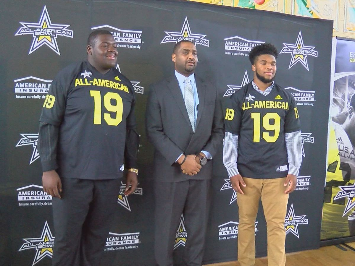 SU Lab stars, LSU commits receive All-American Bowl jerseys