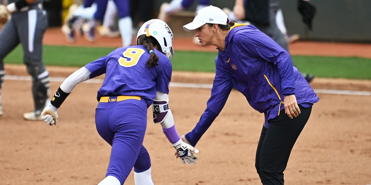 No. 10 LSU softball run-rules ULM in 5 innings