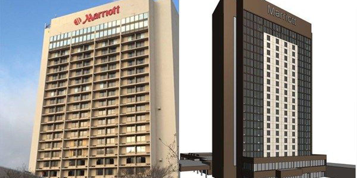 Renovations underway at Baton Rouge Marriott hotel