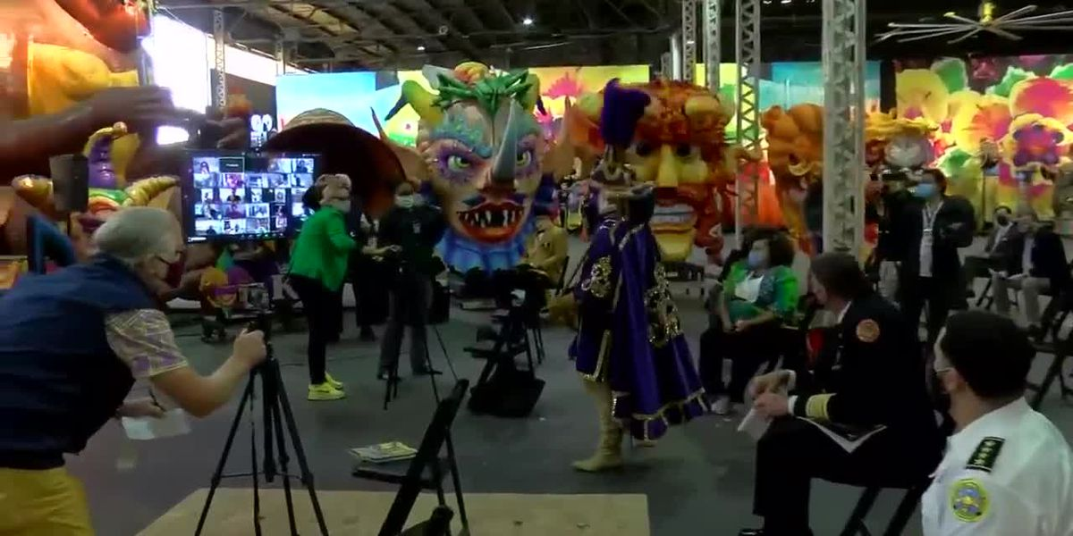 Mayor Cantrell kicks off Carnival season with scaled-down Kings' Day event