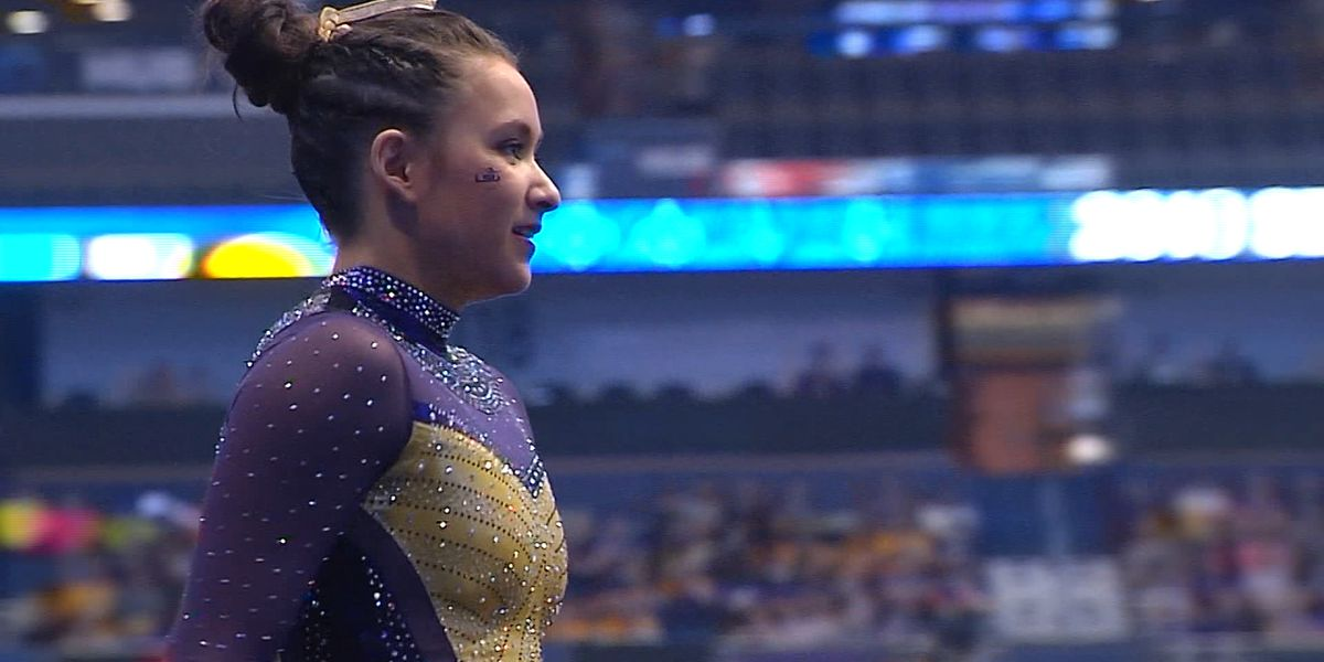 LSU's Sarah Finnegan named SEC Gymnast of the Year, D-D Breaux named Coach of the Year