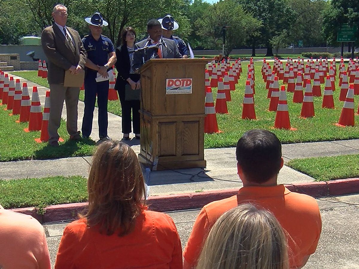 'Drive Like You Work Here': DOTD touts safety for workers during Work Zone Awareness Week