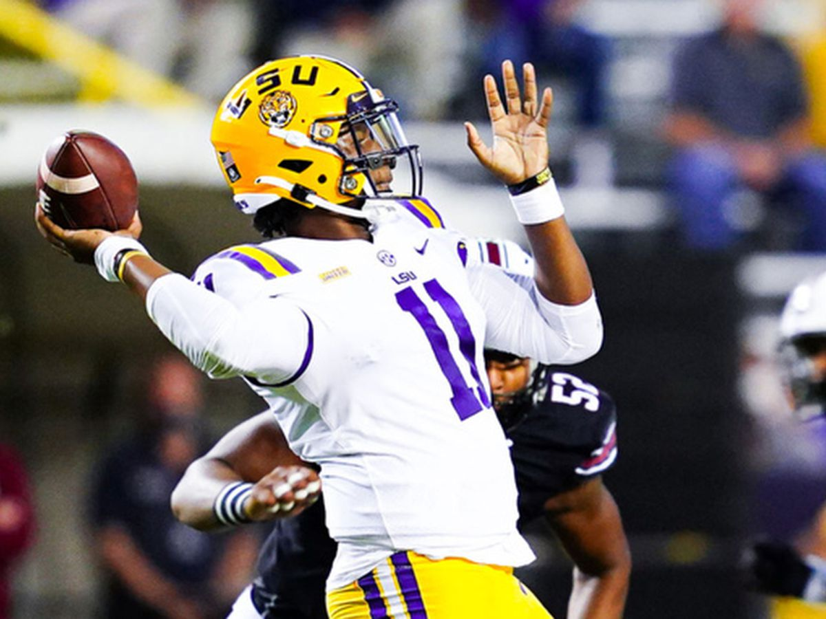 In blowout win over South Carolina, LSU shows fans some things many haven't seen in quite some time
