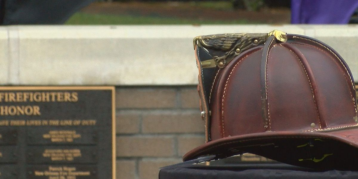 Fallen firefighters honored at memorial ceremony