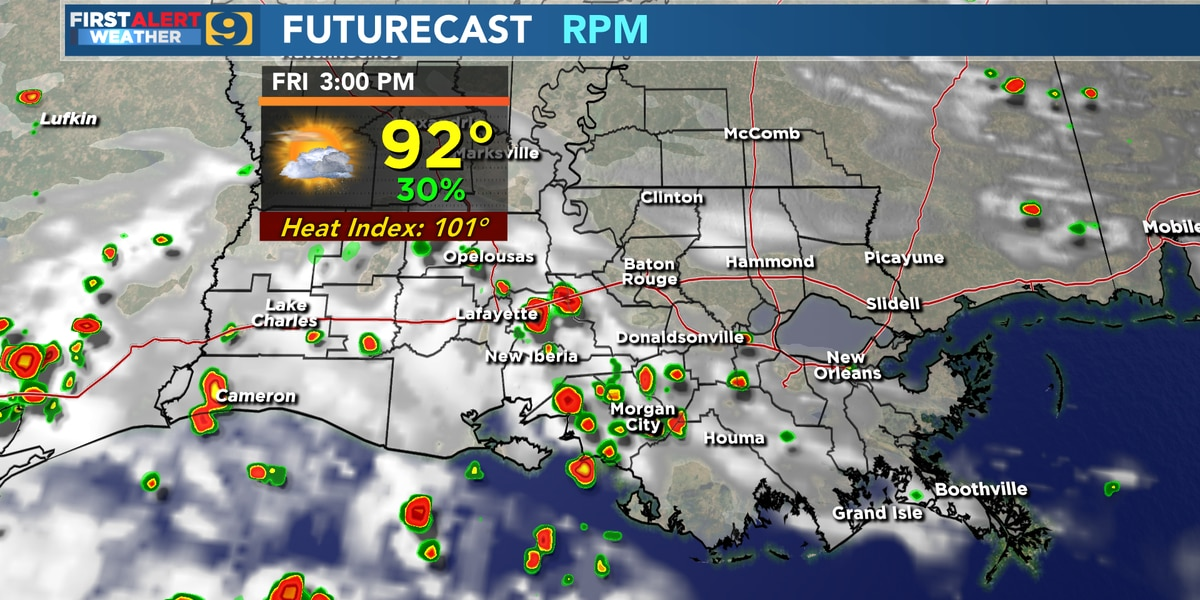 FIRST ALERT FORECAST: Friday will be drier after Thursday's storms